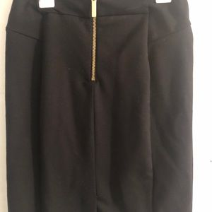 Michael Kors mini black skirt